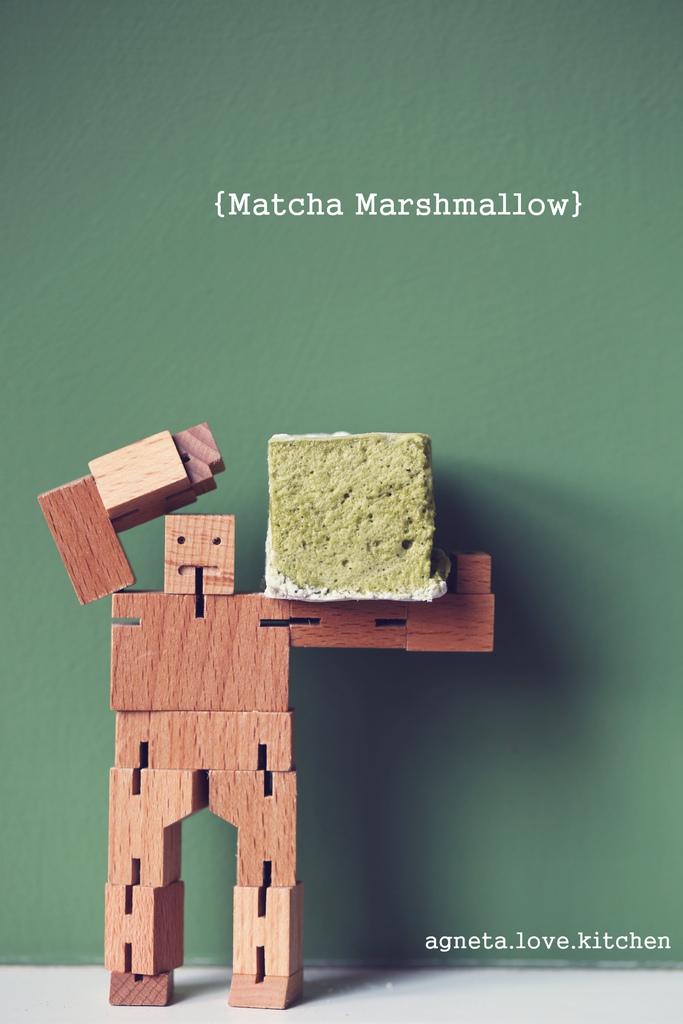 matcha marshmallow